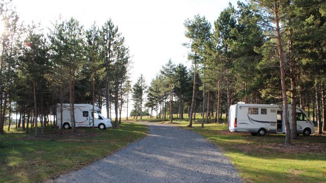 Aire Camping Car-Park à l'aérodrome de Mende